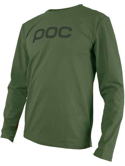 POC Resistance Enduro Jersey Men septane green